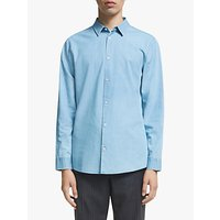 Kin Cotton Chambray Shirt, Blue