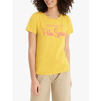 J.Crew Palm Springs Cotton T-Shirt, Rich Gold