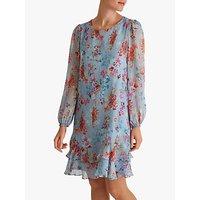 Fenn Wright Manson Tallulah Dress, Blue Floral