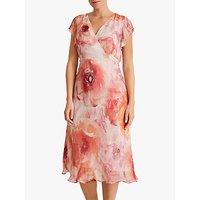 Fenn Wright Manson Petite Floral Ginger Dress, Peony