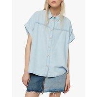 AllSaints Pome Bay Shirt, Beach Indigo