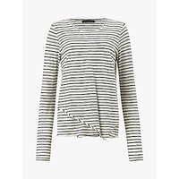 AllSaints Daisy Long Sleeve Cotton T-Shirt