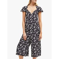 shop for French Connection Charleena Floral Jumpsuit, Utility Blue/Multi at Shopo