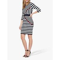 shop for Damsel in a Dress Orianne Stripe Dress, Multi at Shopo