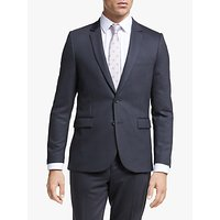 Paul Smith Flecked Wool Blend Tailored Fit Suit Jacket, Navy/Red