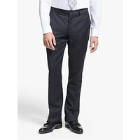 Paul Smith Windowpane Check Tailored Fit Suit Trousers, Navy