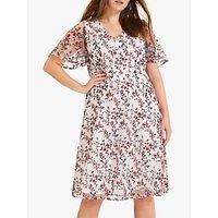 shop for Studio 8 Nina Floral Embroidered Dress, Blush at Shopo