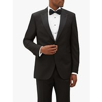 Jaeger Wool Mohair Regular Fit Dress Suit Jacket, Black