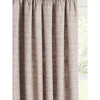 John Lewis and Partners Boucle Pair Lined Pencil Pleat Curtains
