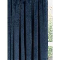 John Lewis and Partners Lustre Velvet Pair Lined Multiway Curtains