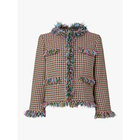 L.K.Bennett Conilia Tweed Jacket, Multi