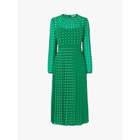 L.K.Bennett Avery Spot Dress, Green