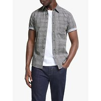Tiger of Sweden Fonzo Check Short Sleeve Shirt