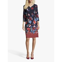 Betty Barclay Embellished Floral Dress, Multi