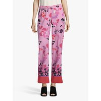 shop for Betty Barclay Floral Print Trousers, Rosé/Multi at Shopo