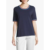 Betty Barclay Sporty Stripe Top, Peacoat Blue