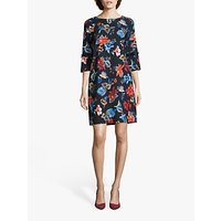 Betty Barclay Floral Shift Dress, Purple/Multi