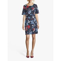 Betty Barclay Alissa Floral Dress, Purple/Multi