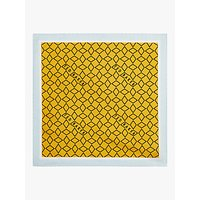 Ted Baker Culver Geo Print Silk Pocket Square