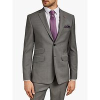 Ted Baker Whitbe Wool Tailored Suit Jacket, Grey