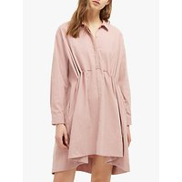 French Connection Smythson Shirt Dress, Teagown Pink