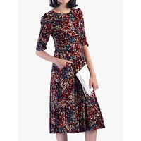 shop for Jolie Moi Abstract Jersey Dress, Multi at Shopo