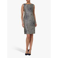 Helen McAlinden Fern Shift Dress, Cream/Navy