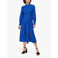 Monsoon Celleni Star Dress, Blue