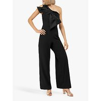 Monsoon Zara Bow Jumpsuit, Black
