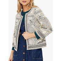 Monsoon Ray Reversible Embroidered Jacket, Multi