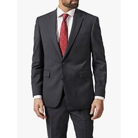 Chester by Chester Barrie Herringbone Wool Cashmere Tailored Suit Jacket, Charcoal