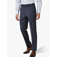 Chester by Chester Barrie Birdseye Wool Suit Trousers, Navy