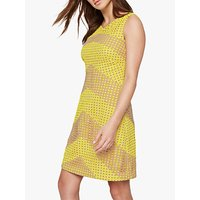 shop for Damsel in a Dress Thekla Stripe Dress, Yellow/Nude at Shopo