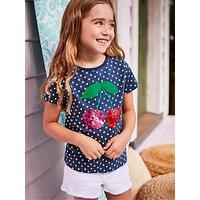 Mini Boden Girls' Colour Change T-Shirt, Blue