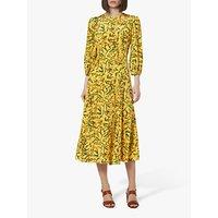 shop for L.K.Bennett Kaia Flared Leopard Print Dress at Shopo