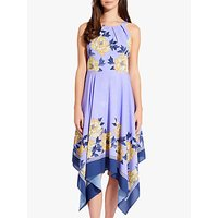 Adrianna Papell Bliss Blooms Dress, Yellow/Multi