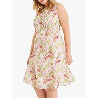 shop for Studio 8 Ursula Flare Floral Embroidered Dress, Blush at Shopo