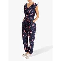 Fenn Wright Manson Petite Floral Jumpsuit, Navy Print
