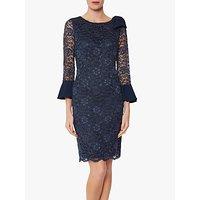 shop for Gina Bacconi Adabella Sleeveless Dress, Spring Navy at Shopo