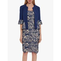shop for Gina Bacconi Trish Jacket And Dress, Navy at Shopo