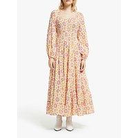 AND/OR La Galeria Elefante Jody Star Maxi Dress, Ivory/Multi