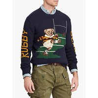 Polo Ralph Lauren Rugby Bear Sweater, Navy