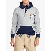 Polo Ralph Lauren Rugby Bear Hoodie, Andover Heather
