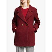 John Lewis & Partners Textured Pea Coat
