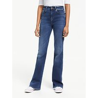 7 For All Mankind Lisha Slim Illusion Jeans, Blue