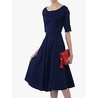 shop for Jolie Moi Scoop Neck Swing Dress at Shopo