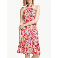 Boden Lilah Multi-Way Dress, Red Pop Paisley