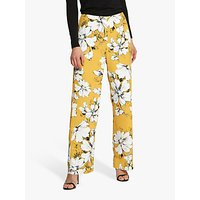 Helen McAlinden Lana Floral Trousers, Yellow