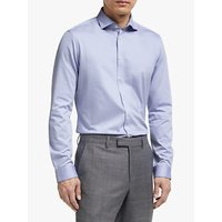 John Lewis and Partners Jersey Slim Fit Cotton Shirt