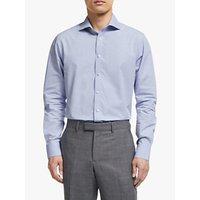 John Lewis Melange Cotton Tailored Shirt